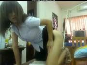 นักศึกษาไทย ตั้งกล้องเต้นโชว์คาชุดสายบันเทิงสุดๆ ทำตัวแบบนี้อนาคตเป็นดาราหนังx