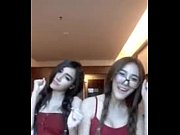 show live อีกแล้วหลุด 2 เพื่อนสาวสุดสวยเด็กไทยเต้นอีกแล้วเห็นแล้วของขึ้นอยากขึ้นน้องเลย